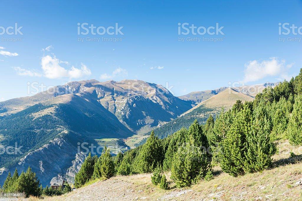 Montanhas no outono - foto de acervo