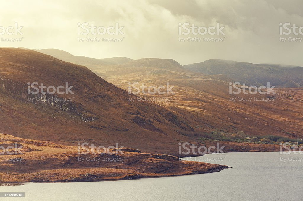 Mountains in Ireland royalty-free stock photo