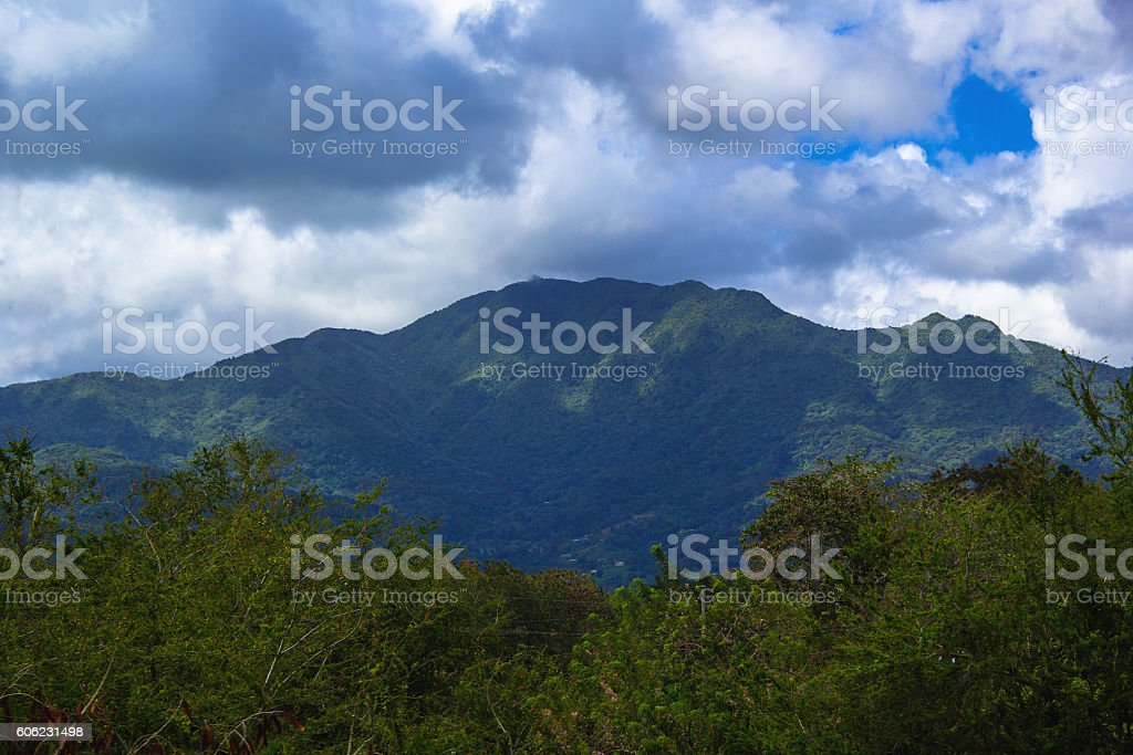 Mountains In Puerto Rico Stock Photo Download Image Now Istock
