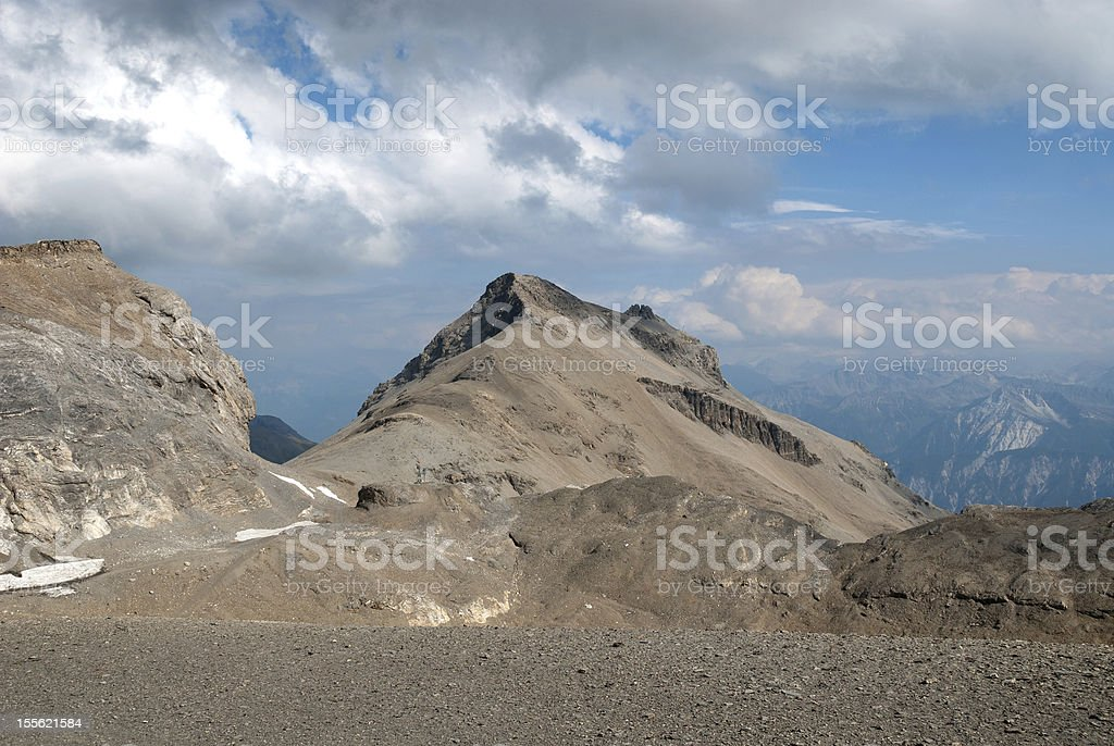 mountains in Switzerland stock photo