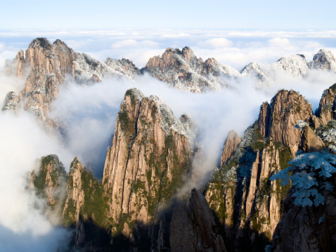 Mountains In The Clouds Stock Photo - Download Image Now