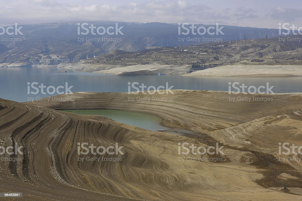 Mountains Lake royalty-free stock photo