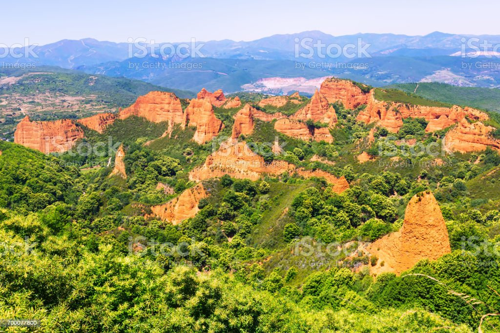 Mountains landscape in summer stock photo
