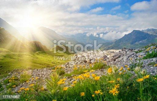 istock Mountains landscape 177474957