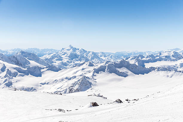 Mountains landscape Mountains landscape, Caucasus Russia sochi stock pictures, royalty-free photos & images
