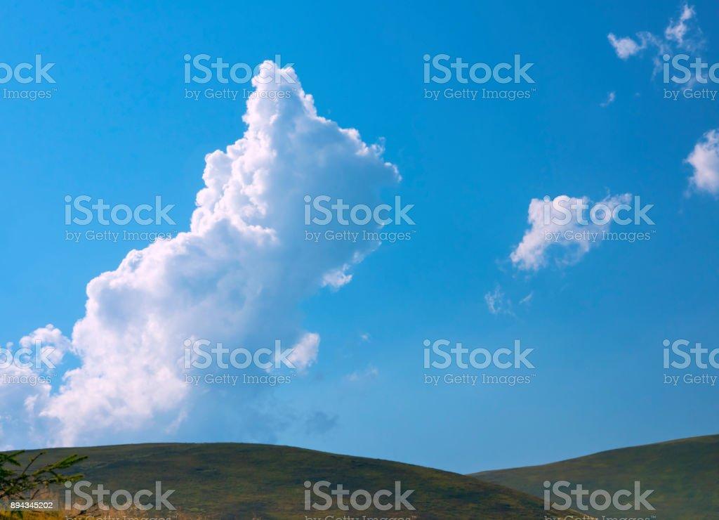 Mountains landscape stock photo