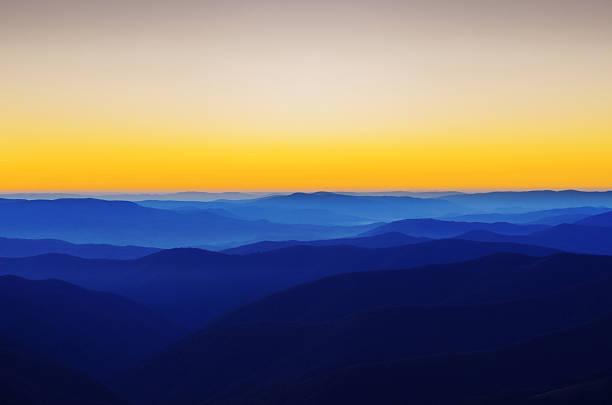 산 같은 스택스 - 카르파티아 산맥 뉴스 사진 이미지