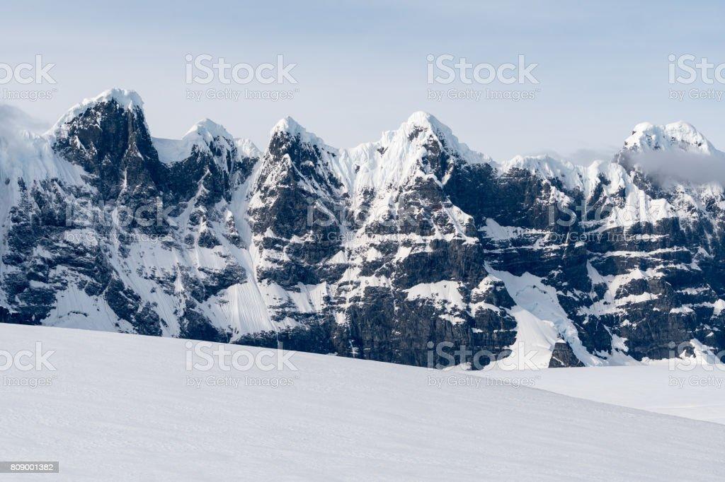 Bergen der Antarktis – Foto