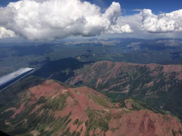 Mountains of Aspen stock photo