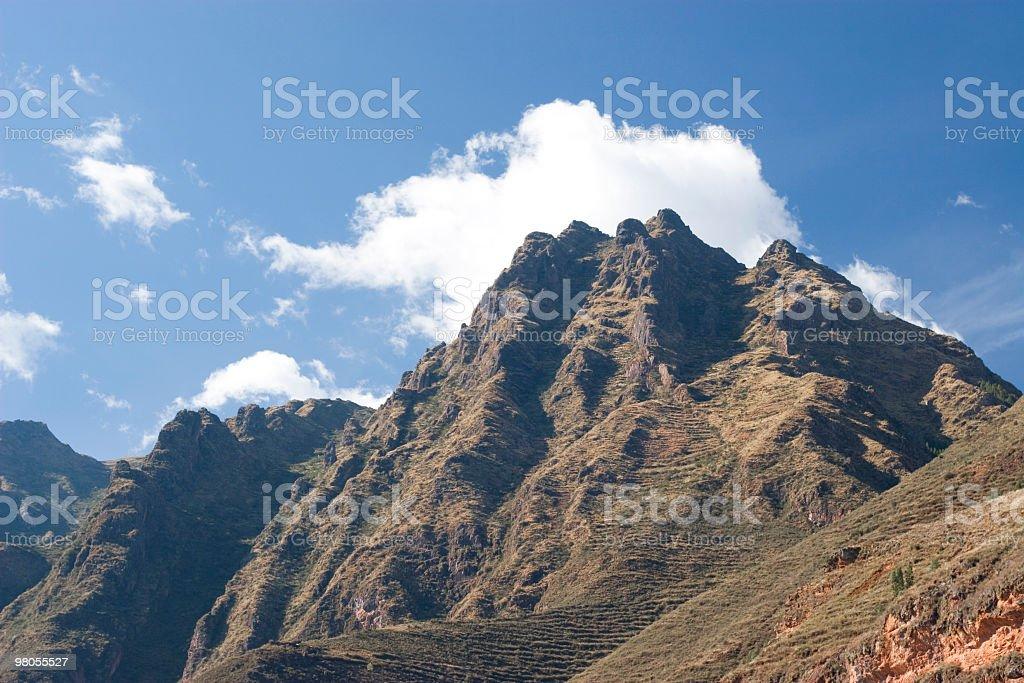 Mountains of Peru royalty-free stock photo