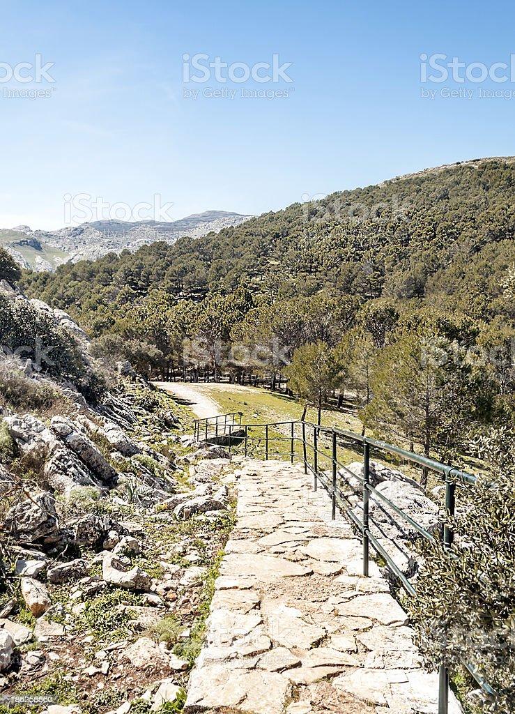 Mountains of Ronda royalty-free stock photo