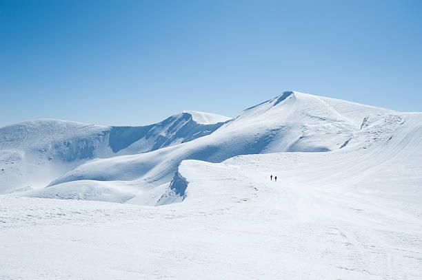 산/인공눈 - 몽블랑 뉴스 사진 이미지