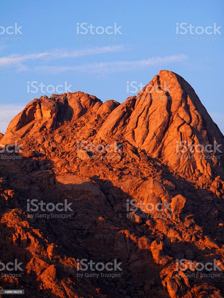 mountains of south Sinai  . stock photo