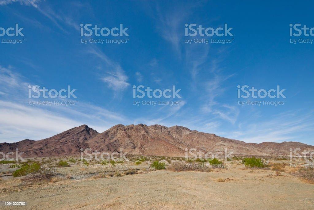 Mountains of the Sonoran Desert stock photo