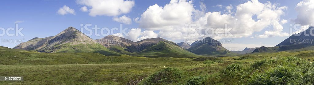Mountains panorama royalty-free stock photo