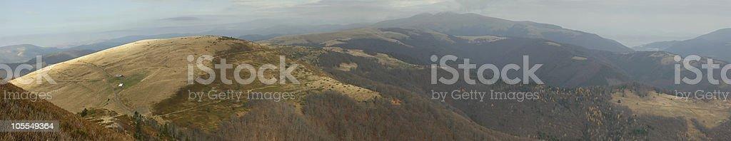 Mountains. Panoramic royalty-free stock photo