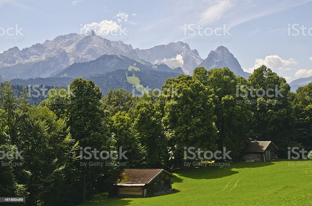 Bergblick royalty-free stock photo
