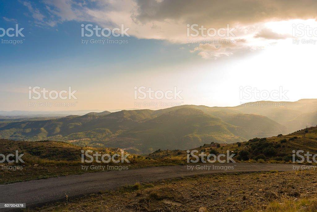 Die Berge.   – Foto