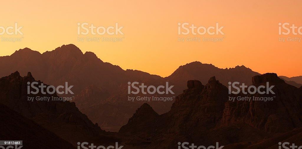 mountains. royalty-free stock photo
