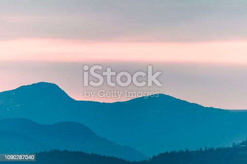 Photo of Mountains Range in Vancouver, BC, Canada