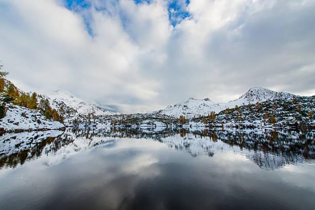 bergen zeigt sich im preis. - lake tahoe winter stock-fotos und bilder