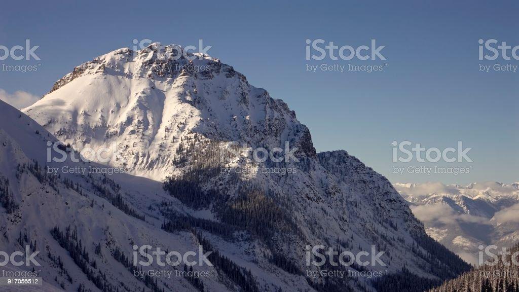 Mountain-scape stock photo