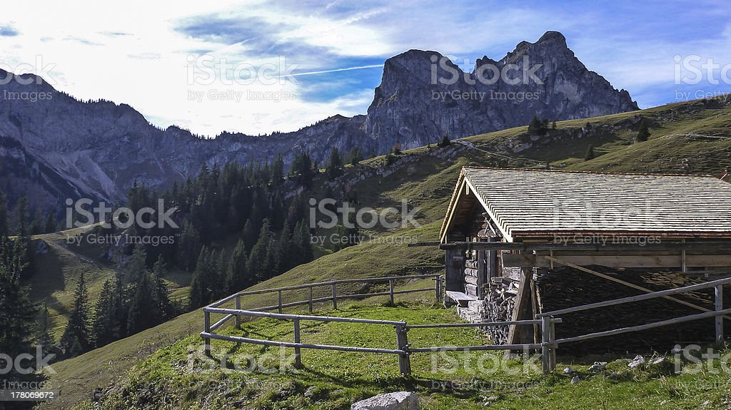 Mountainshelter – Foto