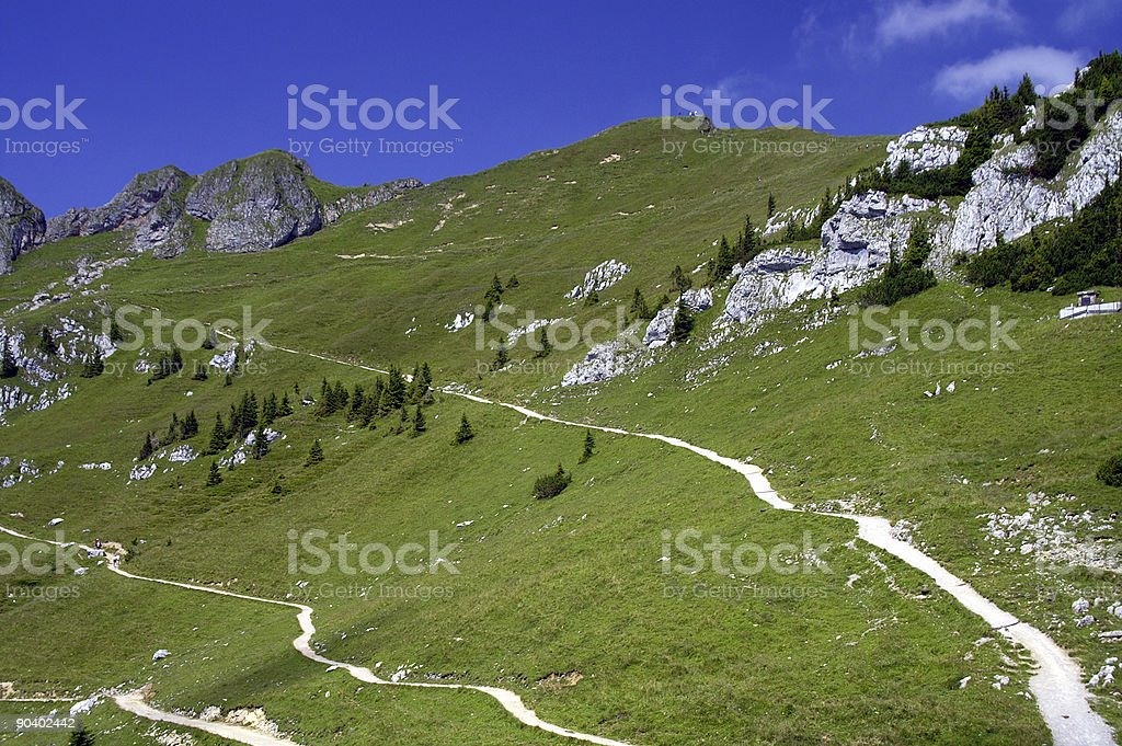 Mountains,Rotwandgebiet,Oberbayern,Germany 4 royalty-free stock photo