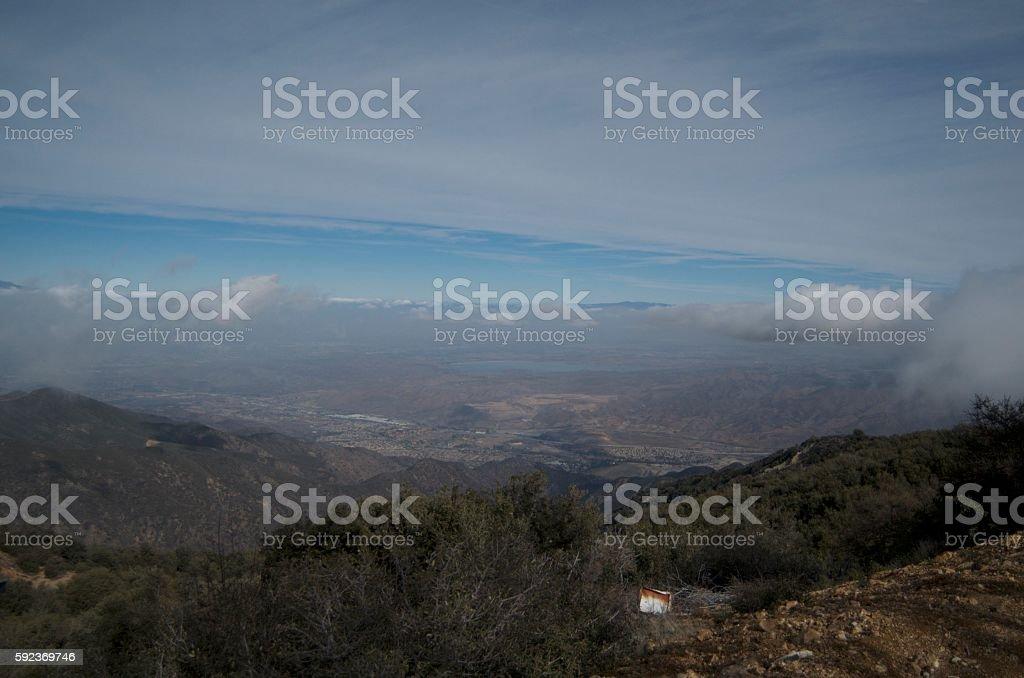Mountaintop View stock photo
