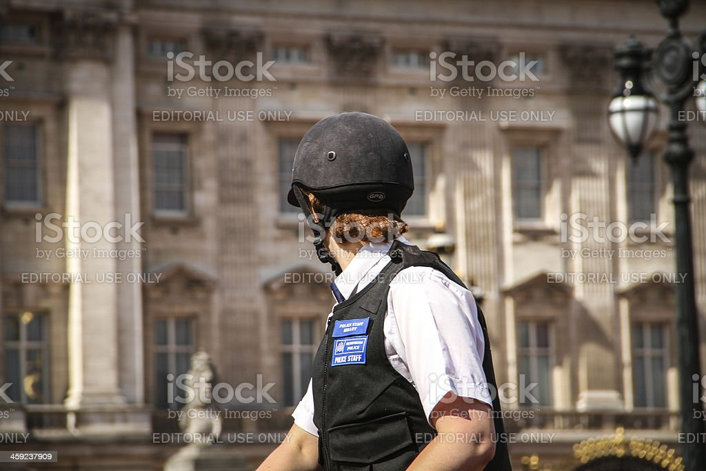 Mounted Police, London. royalty-free stock photo