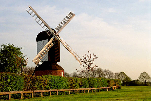 Mountnessing Windmill stock photo