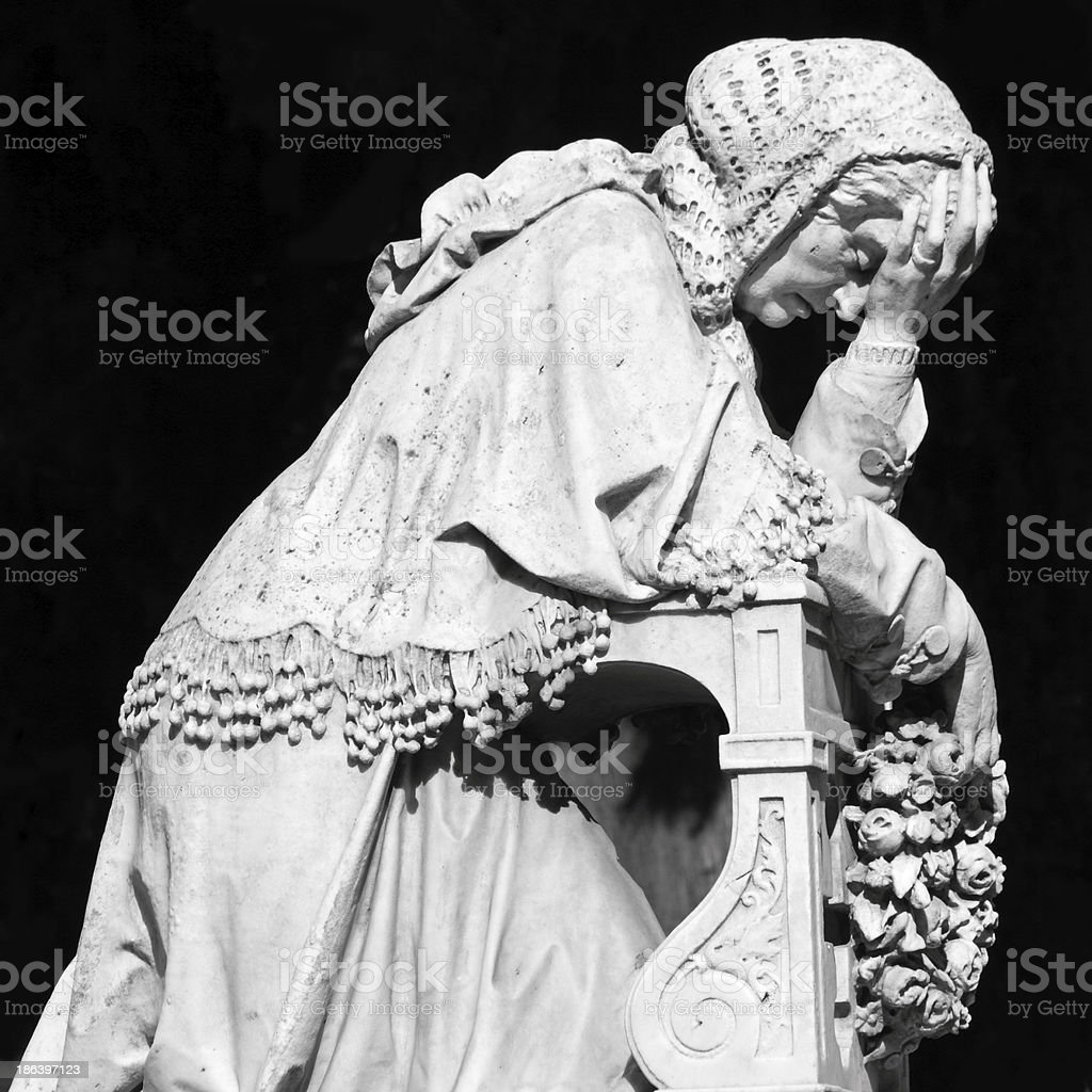 mourn stock photo