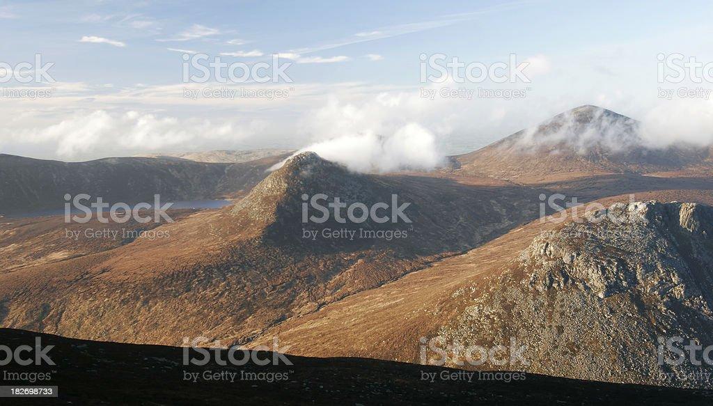 Mourne Mountain Scenic stock photo