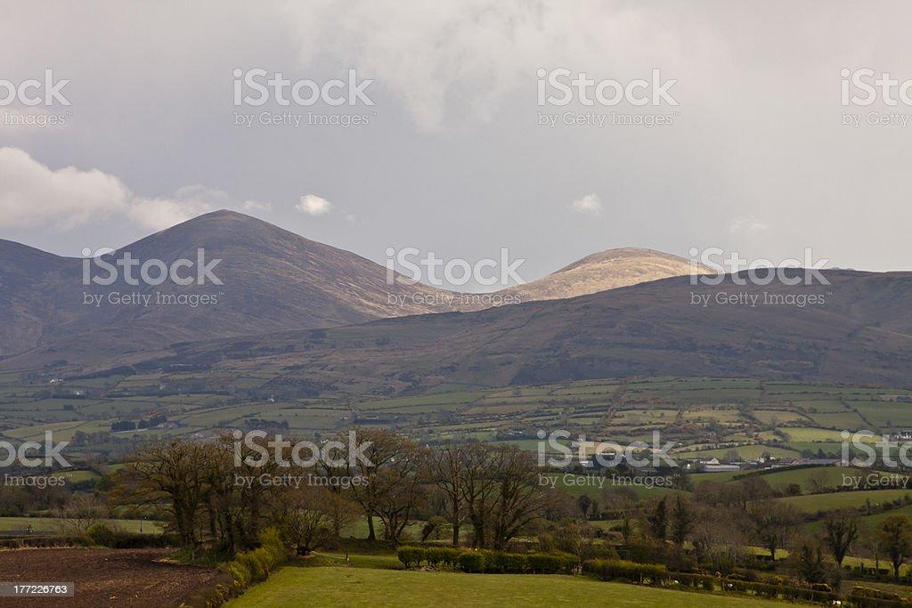 Mourne Mountains stock photo
