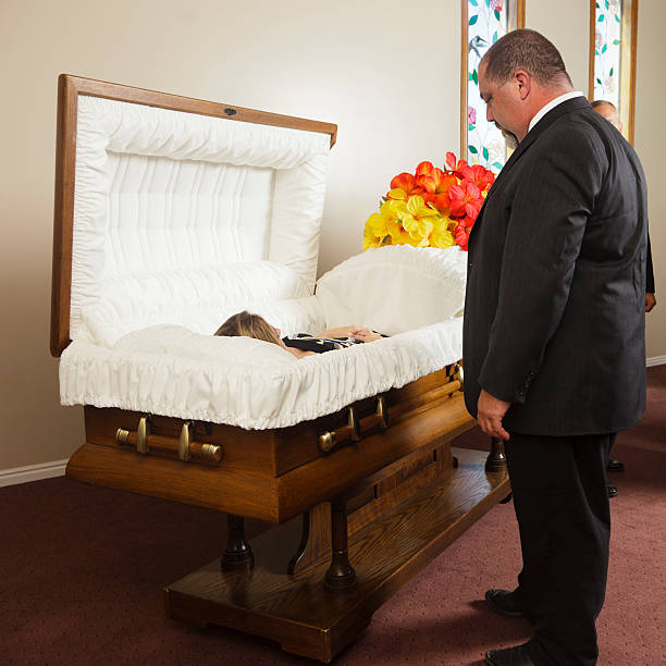 mourning father - man face down stock pictures, royalty-free photos & images