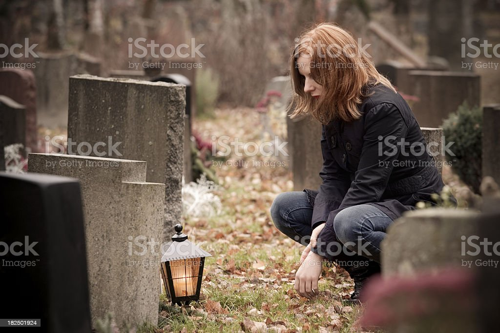 Mourning royalty-free stock photo