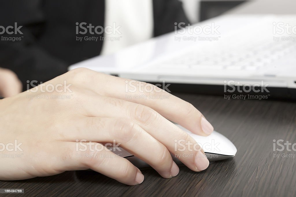 mouse click royalty-free stock photo
