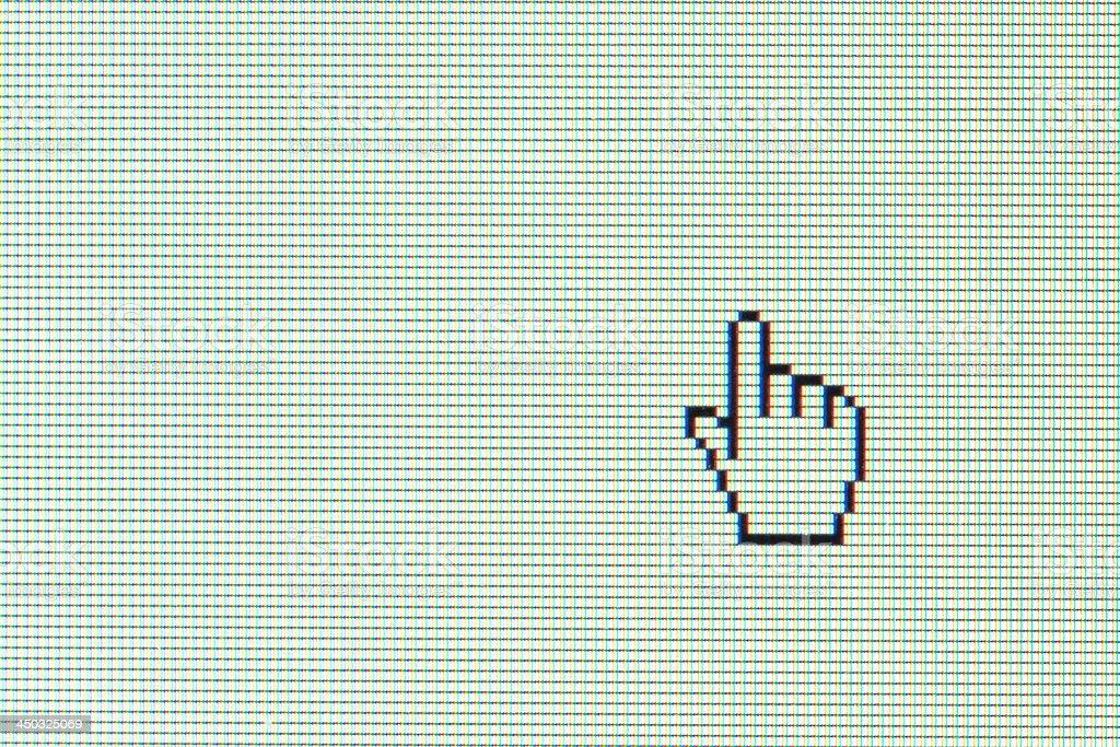 mouse cursor stock photo