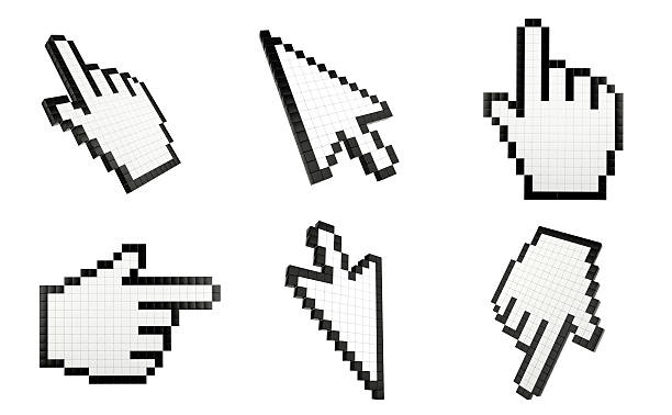 mouse cursors - cursor stock pictures, royalty-free photos & images