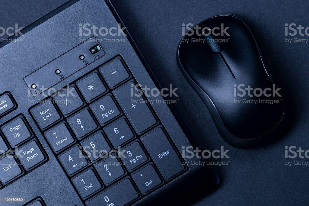 Mouse & keyboard stock photo