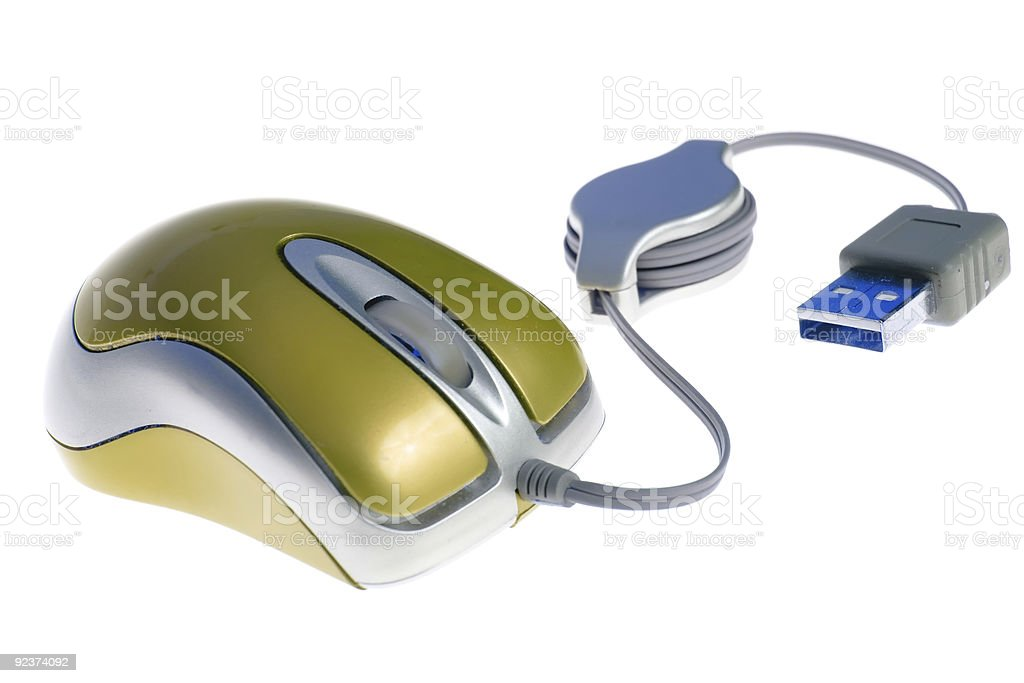 USB mouse royalty-free stock photo