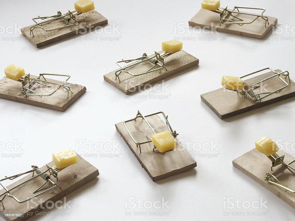 Mouse Traps stock photo