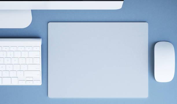 mousepad mockup stock photo