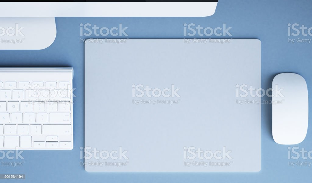 Mousepad-Mock-up – Foto