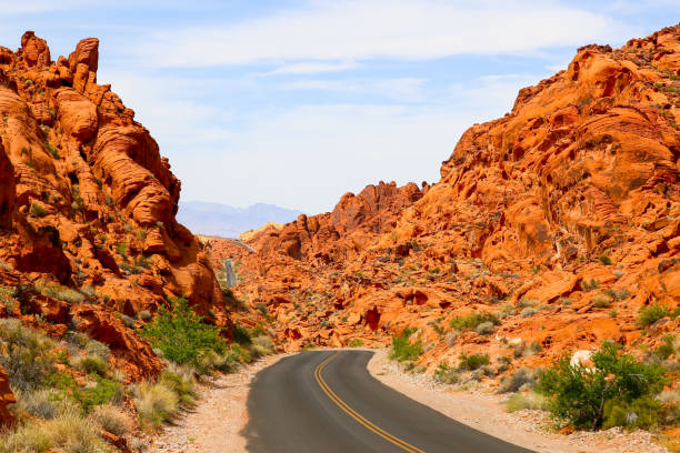 mouses tank road in the valley of fire - clark county nevada stock pictures, royalty-free photos & images