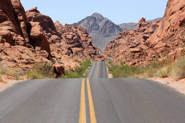 Mäuse Tank Road im Valley of Fire State Park – Foto