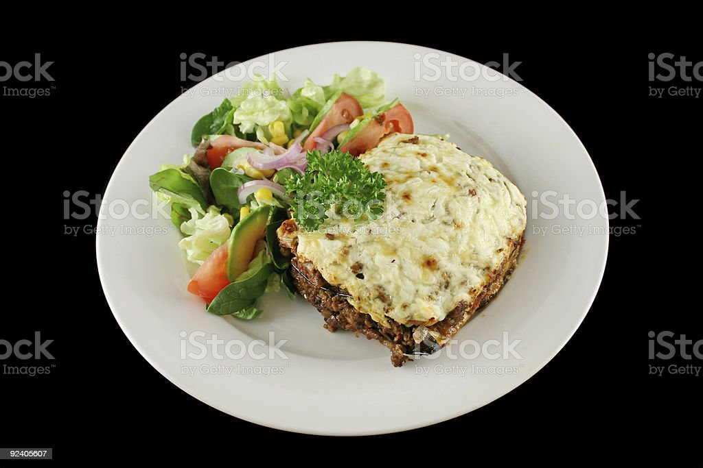 Moussaka 1 royalty-free stock photo