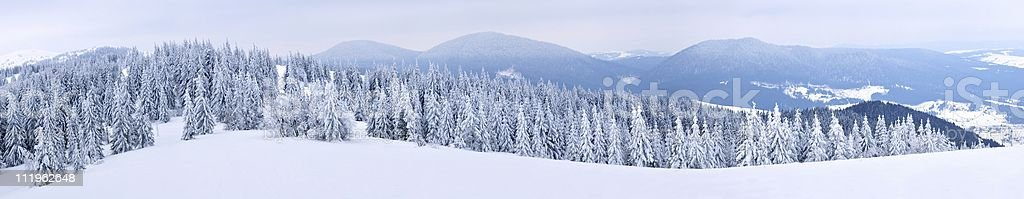 Moutain Panoramic royalty-free stock photo