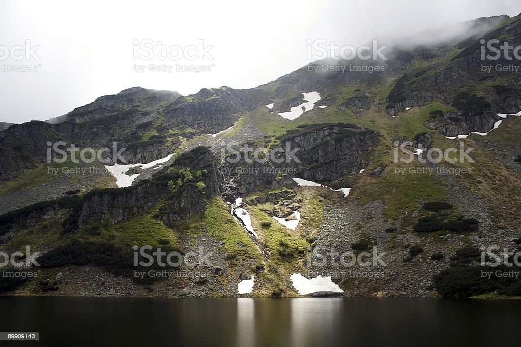 moutains lake royalty-free stock photo