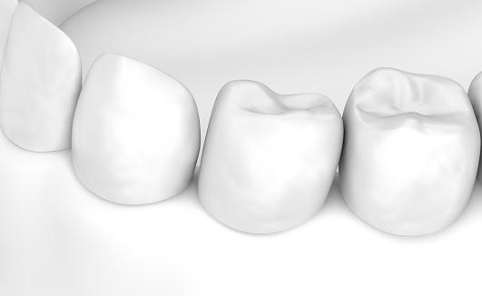 Mund Zahnfleisch Und Zähne Weiße Gerstenkorn 3dillustration Stockfoto und mehr Bilder von Anatomie